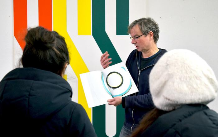 Studio Visit to JENS WOLF