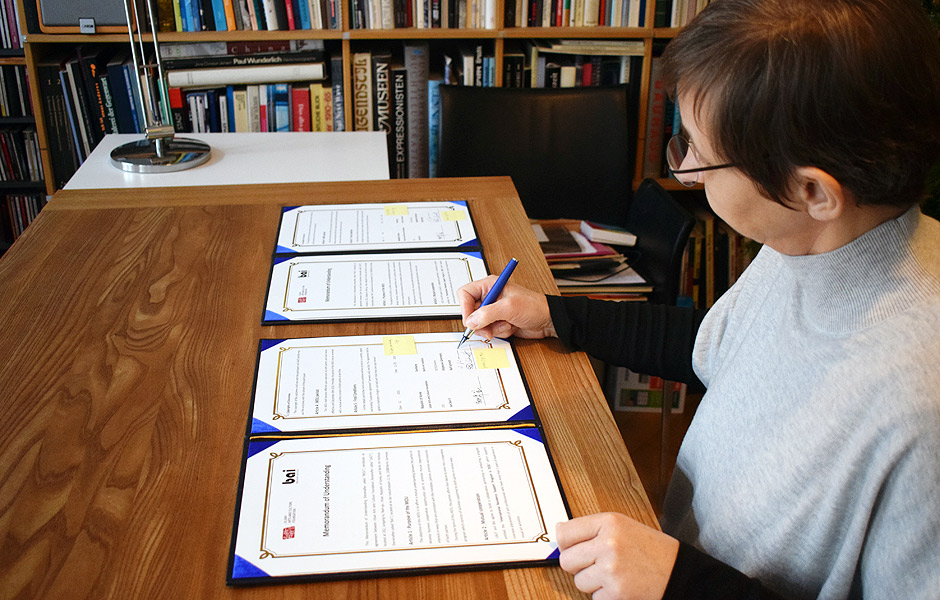 ULSAN ARTS AND CULTURE FOUNDATION wird PARTNER im BAI Residenzprogramm