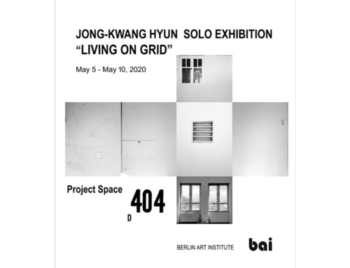 LIVING ON GRID von Jong-Kwang Hyun in 404 | BAI