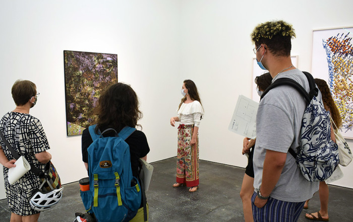 Visit to BASEL BY BERLIN at Galeria Plan B